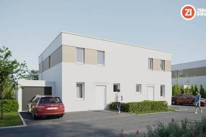 BAUSTART erfolgt - IM BIRNFELD - schlüsselfertige Doppelhaushälfte inkl. Keller und Garage