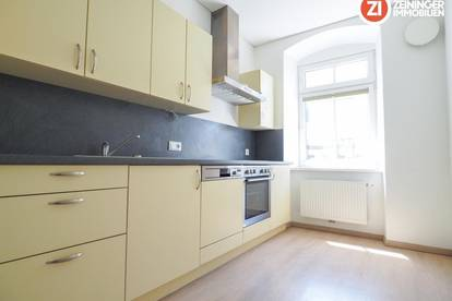 Traumhafte 3-Zimmer Wohnung inkl. Küche im Linzer Zentrum