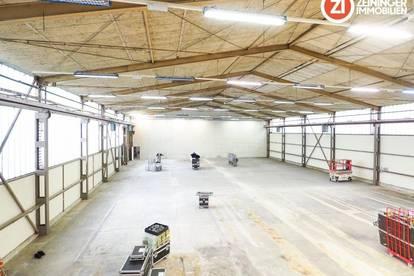 Großzügige 1.500m² Lagerhalle direkt im Zentrum Linz!