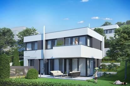 AUSSICHT pur: Modernes Einfamilienhaus in traumhafter Grünruhelage im ERSTBEZUG