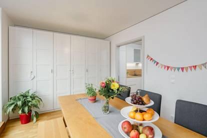 HIPPE MAISONETTE mit 4-5 Zimmern 2 TERRASSEN und TIEFGARAGENSTELLPLATZ - in der KERNZONE