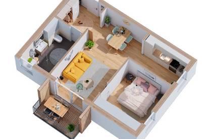 2-Zimmer-Anlegerwohnung mit Top Rendite