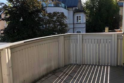 MITTEN IN MAXGLAN: Sympathische, ruhige 3-Zimmer-Wohnung mit Terrasse und Parkplatz