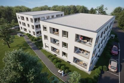 BAUBEGINN! Top Veranlagung- Wohnoase Hammerwerkgasse Vöcklabruck! Geförderte Eigentums- und Anlagewohnungen! TG-Platz jetzt kostenlos!
