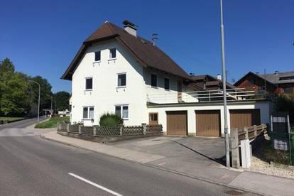 Reserviert!!! Großzügiges Mehrfamilienhaus mit 3 Wohneinheiten von 58 - 184 m² WNFL 4 Garagen, 2 XXL Terrassen + Garten