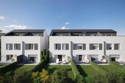 Reihenhausvilla (Randhaus) mit Atelier und  XXXL Dachterrasse, sonniger Garten zum Wohnungspreis ab nur 1076,22 €/ Monat Top 4