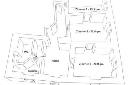 Zimmer in schöner 3er WG nur 5 Minuten von der UMIT entfernt