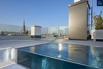 Luxus-Penthouse in herrschaftlichem Palais mit Blick über Wien für besondere Ansprüche
