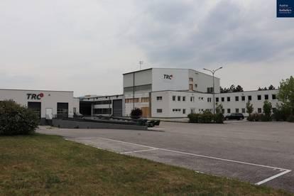 Gewerbe Objekt / Lagerhalle / Büroräume / Arbeiterquartier