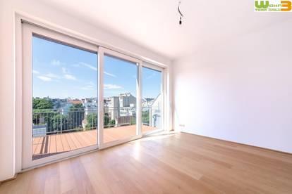 Dachgeschoss-Wohnung: modern - hell - 360° Blick über Wien