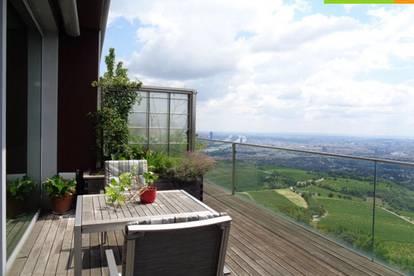 Grandioser Panoramablick über Wien - Terrassenwohnung á la Chalet
