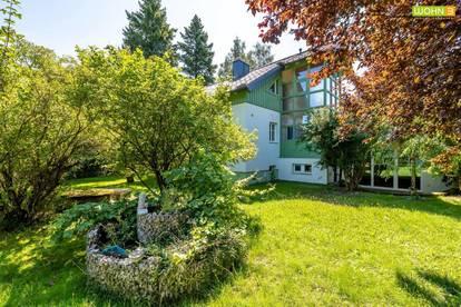 In bester Nachbarschaft: Haus mit 2 Wohneinheiten mit paradiesischem Garten NEUER PREIS!!