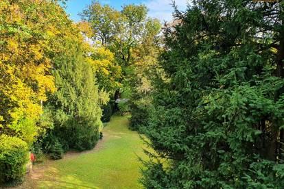 Döbling: Altbau mit Grünblick in absoluter Ruhelage