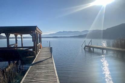 Erstklassige Wohnung am wunderschönen Wörthersee! - Eigener Seezugang vorhanden