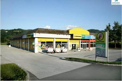 Ansprechende Fachmarkt - Geschäftsfläche in Klagenfurt