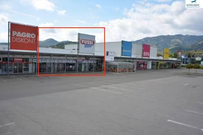 Sehr attraktive große Geschäftsfläche im FMZ Euromarkt Kapfenberg