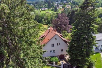 Villenartiges, großzügiges Einfamilienhaus in Eichgraben, mit großem Garten und traumhaftem Fernblick