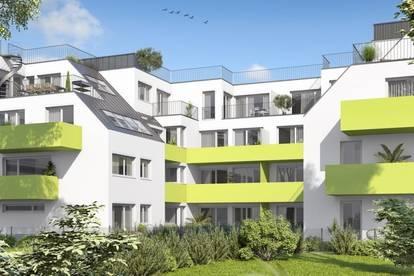 Tolle Terrassenwohnung im modernen Neubau nahe der Neuen Donau | Provisionsfrei
