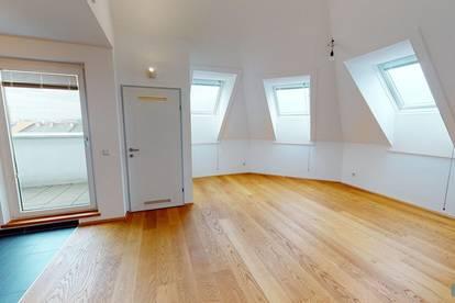 orea | Moderne Dachgeschoss-Wohnung | Smart besichtigen · Online anmieten | DS1