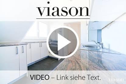 Helle & Ruhige 3-Zimmer-Dachgeschoßwohnung mit Grünblick in Hietzing