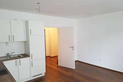 Ruhige, provisionsfreie 2-Zimmer Wohnung mit Terrasse bei U6 Jägerstraße, mit SPAR Supermarkt im Haus
