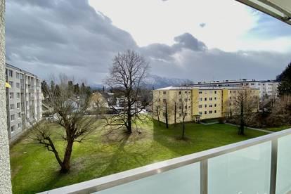 Ruhig gelegene Wohnung mit Loggia und herrlichem Ausblick
