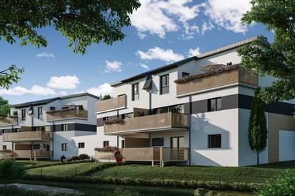 ALLAND Zauberhafte Balkon-Wohnung, 3-Zimmer in schöner Ortsrandlage - PROVISIONSFREI