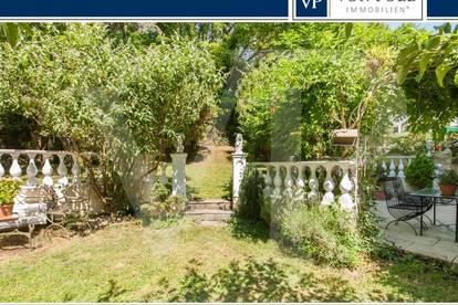 Idyllische Gartenwohnung mit Doppelgarage direkt am Lainzer Tiergarten