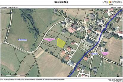 Kärnten! Schönes, ebenes und voll aufgeschlossenes Baugrundstück - Nähe Bad Kleinkirchheim - Region Nockberge