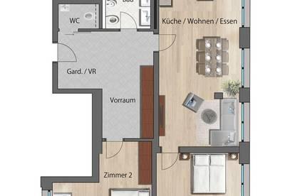 Moderne, barrierefreie Traum Erstbezug Stadtwohnung - Zentrum Spittal