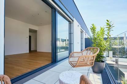 Exklusive, ruhige 2-Zi Wohnung mit 17m2 Außenfläche (Top 14), EWE Küche inkludiert. Fitness Club im Haus!