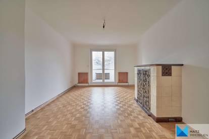 GRÜNBLICK & RUHELAGE: Gartenseitige Loggiawohnung mit 3 Zimmern ***Bad & WC neu***Gartenmitbenützung***