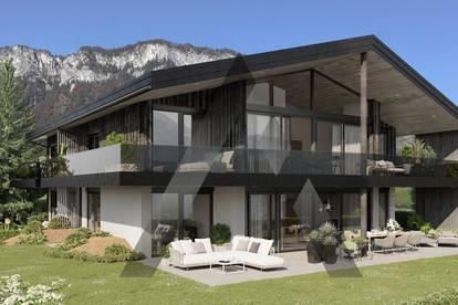 Neubau: Gartenwohnung in ruhiger Sonnenlage