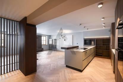 Luxuriöse Stadtwohnung im Loft-Stil