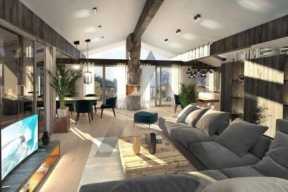 Exklusives Neubau-Penthouse mit Skipistenanbindung