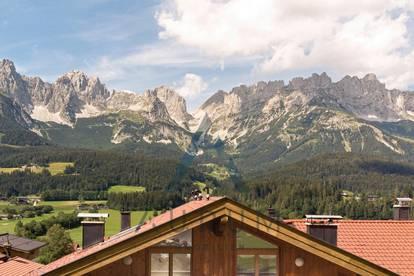 Dachgeschoss mit Kaiserblick & fußläufig zur Piste