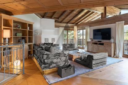Maisonette Wohnung an der Skipiste mit Kaiserblick