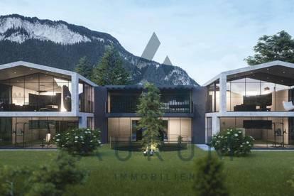 Moderne Neubauwohnungen mit Bergpanorama