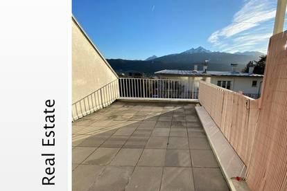 Sonnige Maisonetten Wohnung mit Dachterrrasse in Innsbruck