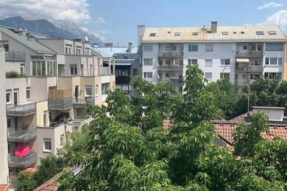 Maisonette mit Südbalkon in der Innsbrucker Innenstadt