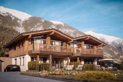 A CASA Chalets in Pettneu am Arlberg traumhafte Gartenwohnung