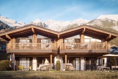 A CASA Chalet Pettneu a. Arlberg Top 2 herrliche Terrassenwohnung mit Garten