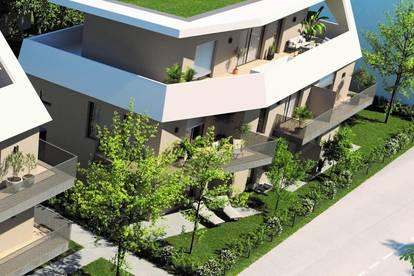Twin Homes - Gartenwohnung mit 2 großen Terrassen