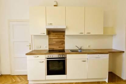 ++ZENTRAL++ Helle 2-Zimmer-Stadtwohnung + extra Küche und Balkon