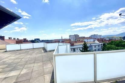 +++ ZENTRAL +++ Helle Kleinwohnung mit sonnigem Balkon und Gemeinschaftsterrasse