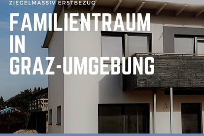 *TOP 28*- Traumhaftes Ziegelmassiv -Reihenhaus ab 272.500 € im Süden von Graz **PROVISIONSFREI**