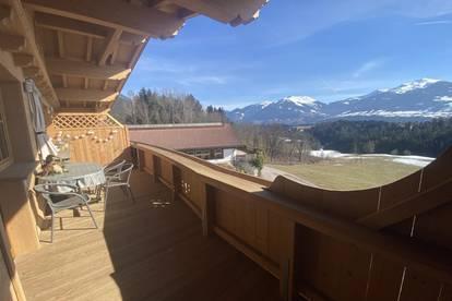 Hochwertig leben in absoluter Ruhelage! 2 Zimmerwohnung mit traumhaften Ausblick in Gnadenwald