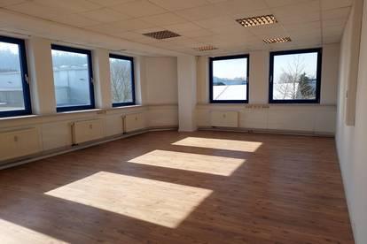 195 m² Büroflächen im Businesspark in Pucking günstig zu mieten! € 4, - pro qm