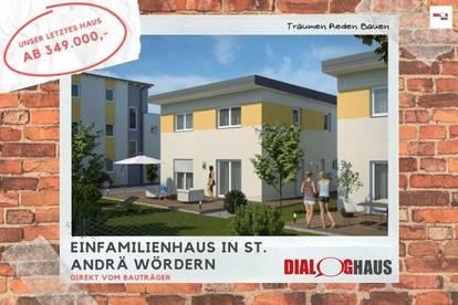 letztes Einfamilienhaus in St. Andrä Wördern - wer will es haben???