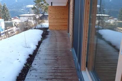 Erstbezug mit Terrasse und Garten!